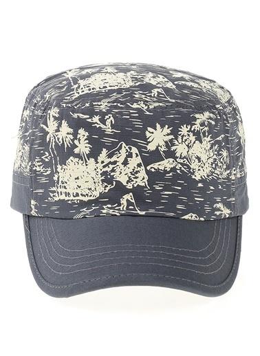 Bay Şapkacı Şapka Mavi
